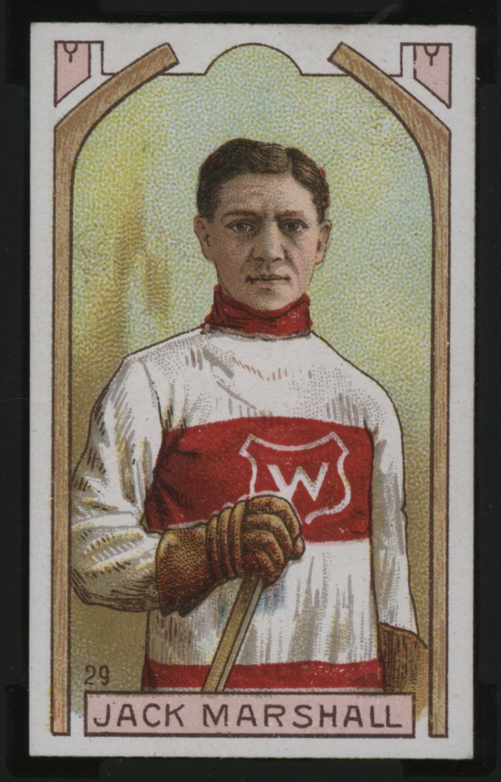 1911-1912 C55 Imperial Tobacco Hockey #29 Jack Marshall - Issued Front