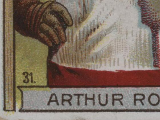 1911-1912 C55 Imperial Tobacco Hockey #31 Arthur Ross - Issued Detail