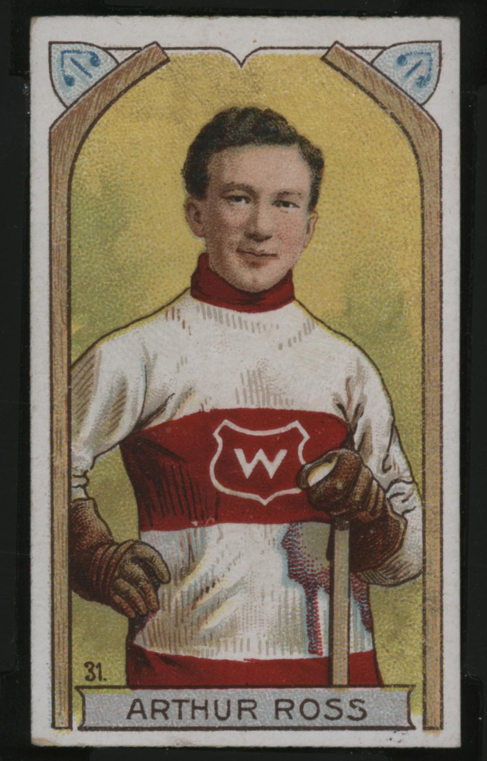 1911-1912 C55 Imperial Tobacco Hockey #31 Arthur Ross - Issued Front