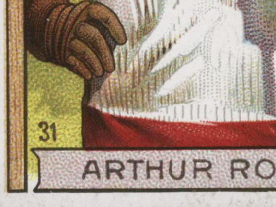 1911-1912 C55 Imperial Tobacco Hockey #31 Arthur Ross - Proof Detail