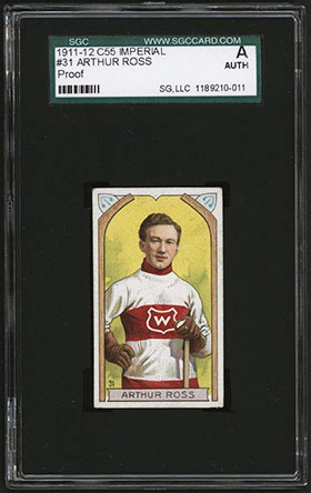1911-1912 C55 Imperial Tobacco Hockey #31 Arthur Ross - Front
