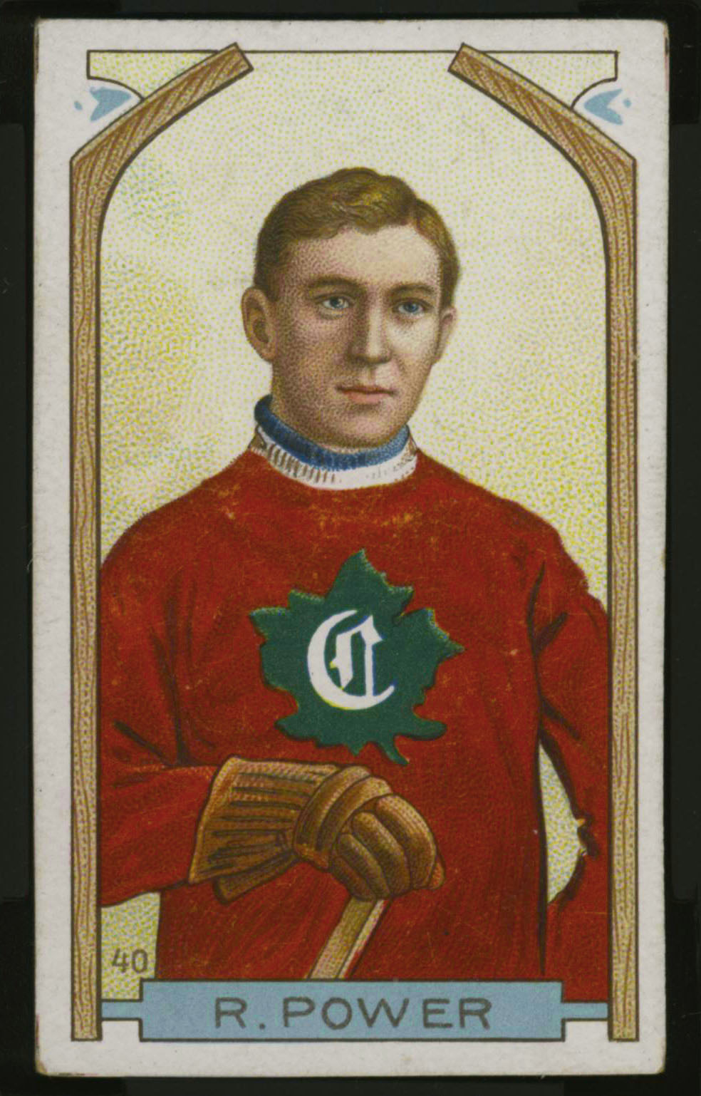 1911-1912 C55 Imperial Tobacco Hockey #40 Rocket Power - Proof Front
