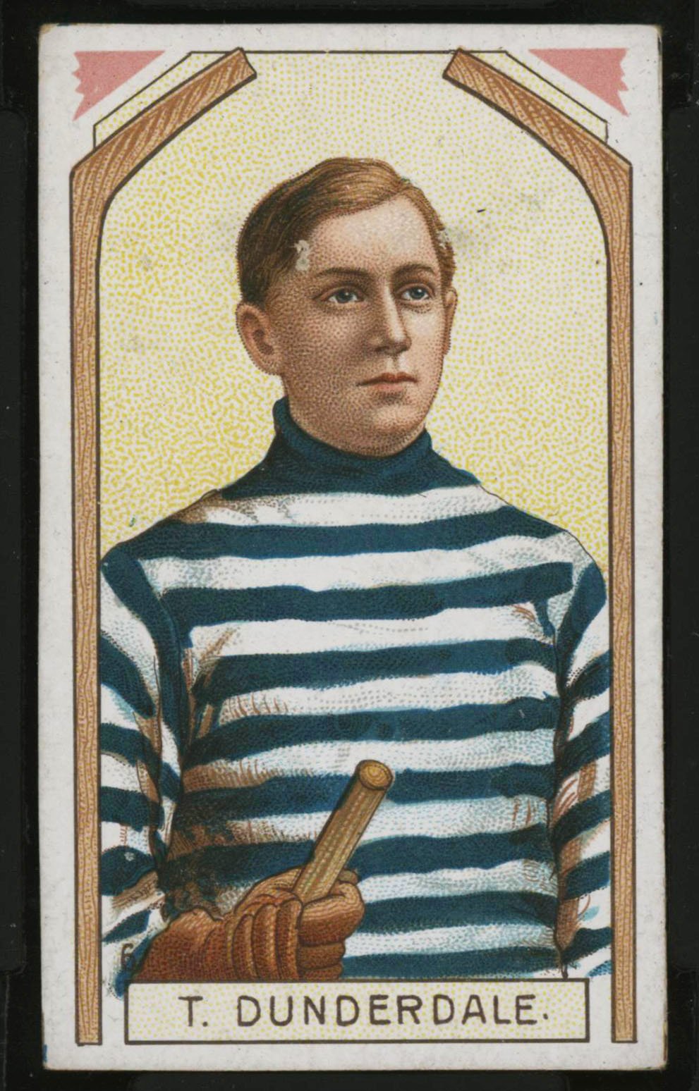 1911-1912 C55 Imperial Tobacco Hockey #6 Tom Dunderdale - Proof Front